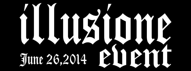 illusione event 2014